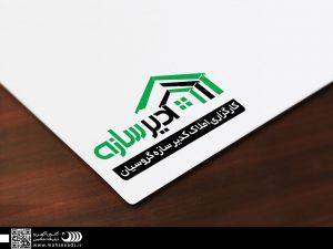 نمونه کارهای طراحی و تبلیغات - طراحی لوگوی شرکت کدیر سازان
